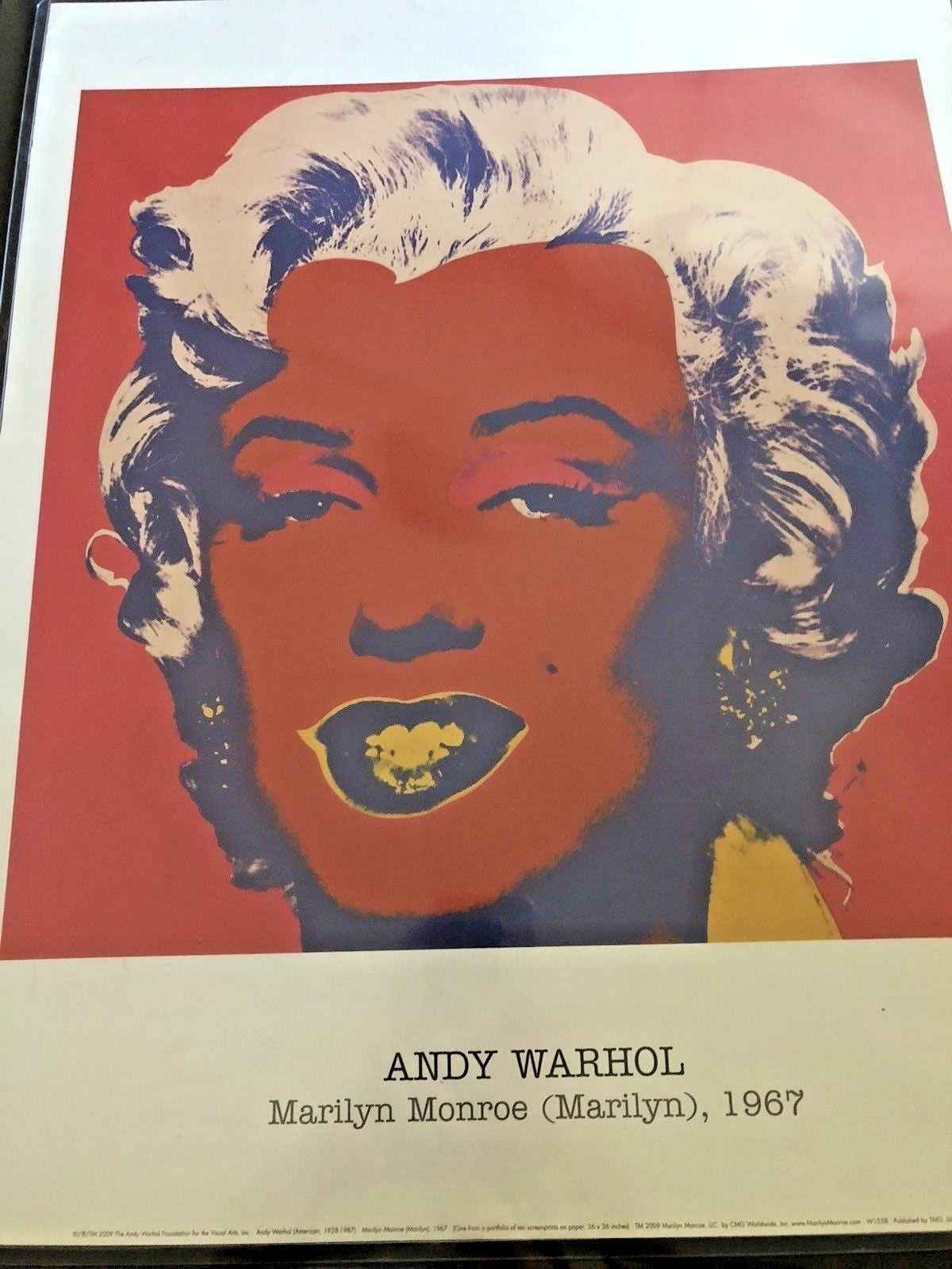 Classic Marilyn Monroe by  Andy Warhol - Masterpiece Online