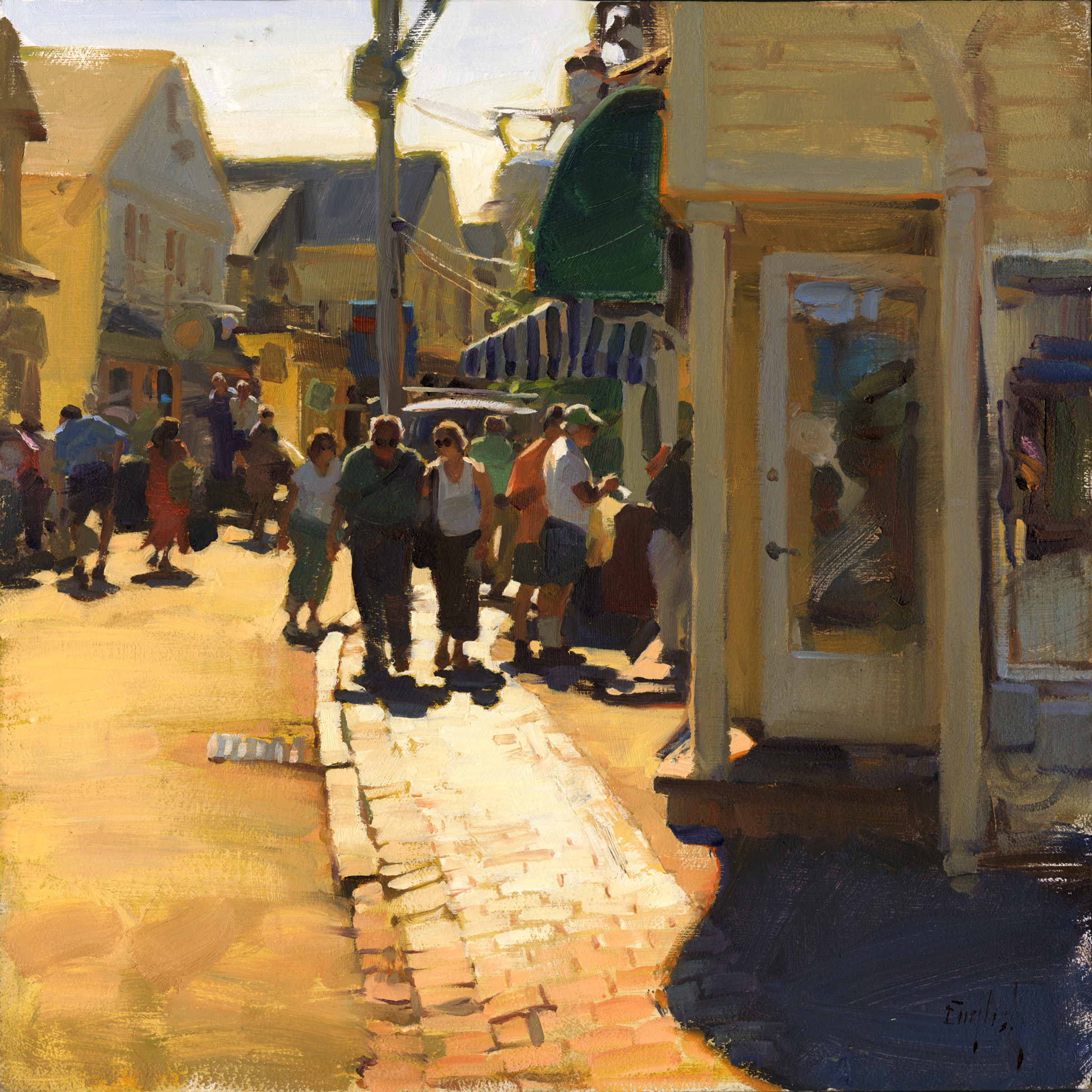 Summertime Visitors by  Kim English - Masterpiece Online