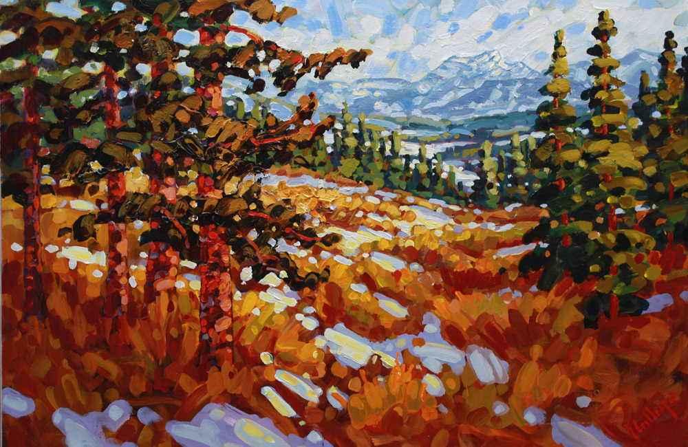 First Snow  by  Ken Gillespie