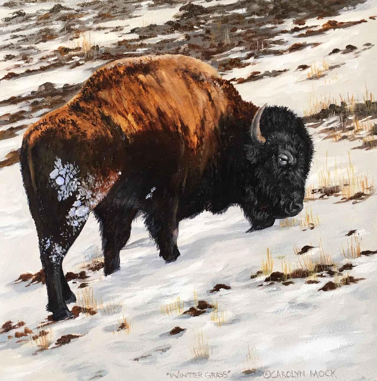 Winter Grass by  Carolyn Mock - Masterpiece Online