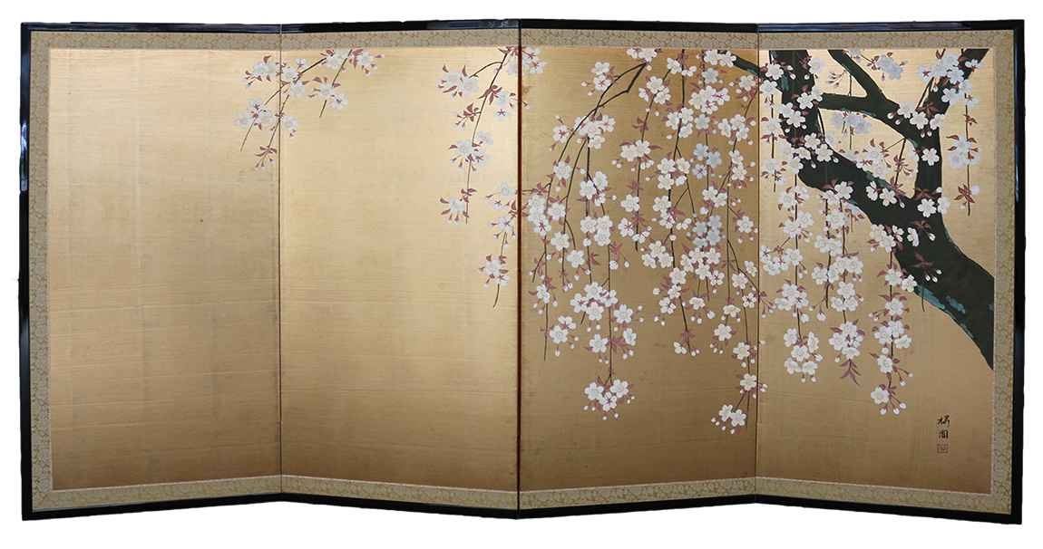 Cherry Tree by  Oh-en Tanaka - Masterpiece Online