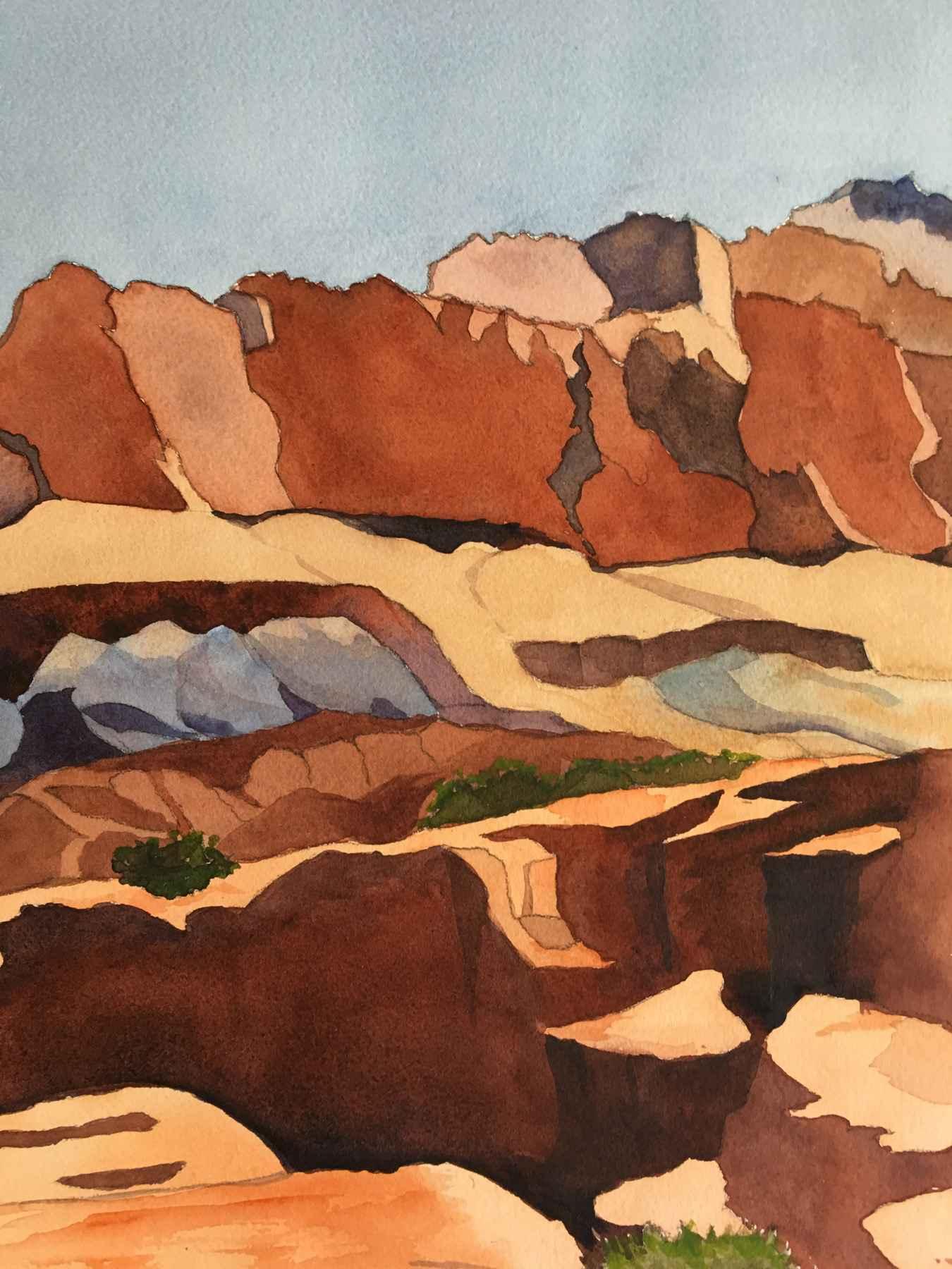 Capital Reef Mesa II by  Kay Sullivan - Masterpiece Online