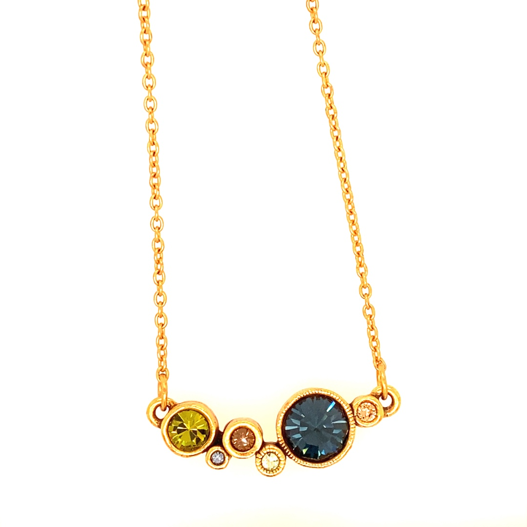 Curtain Call Necklace in Gold, Cascade