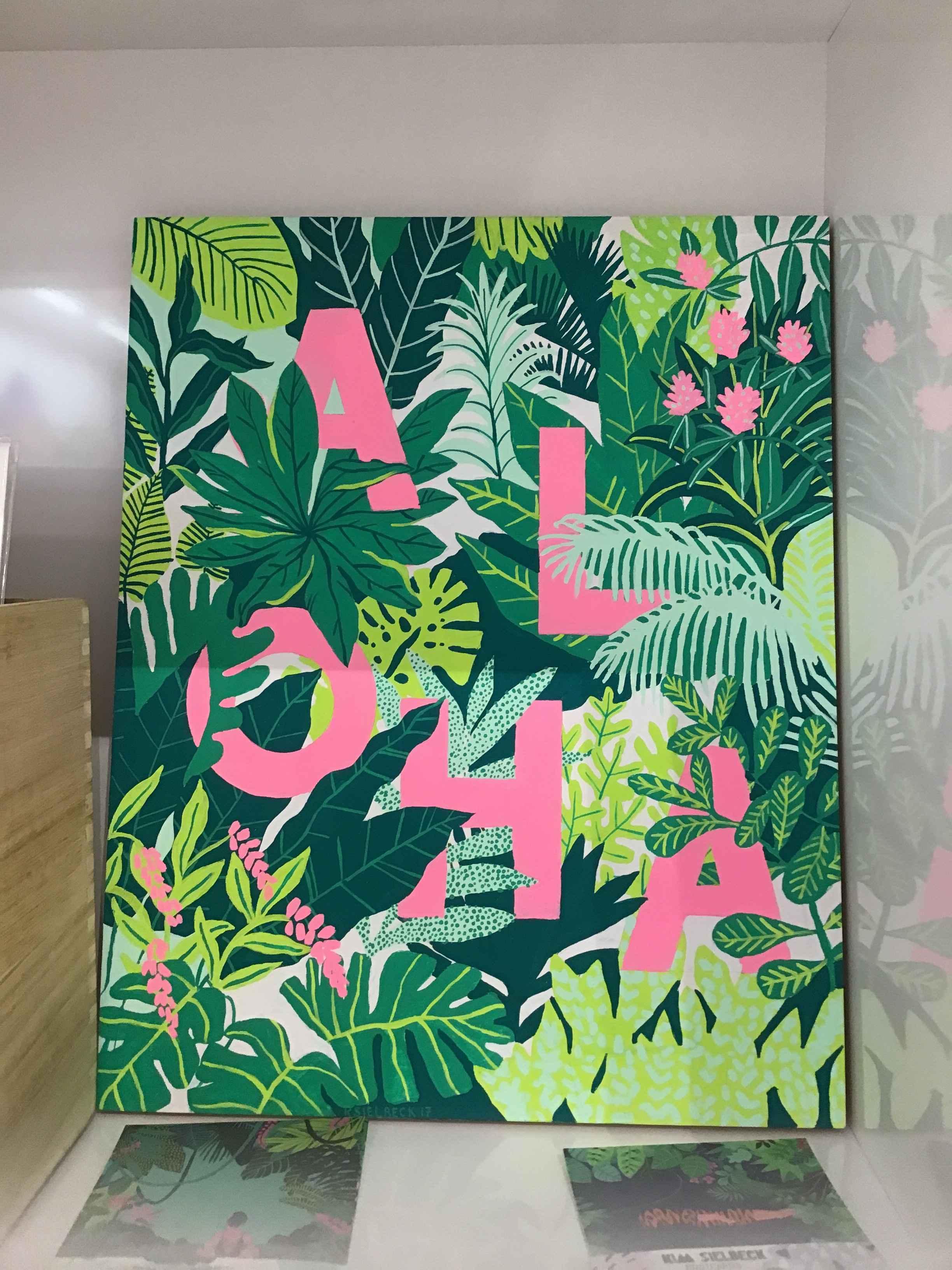 KS - Plant Aloha Orig... by  Kim Sielbeck - Masterpiece Online