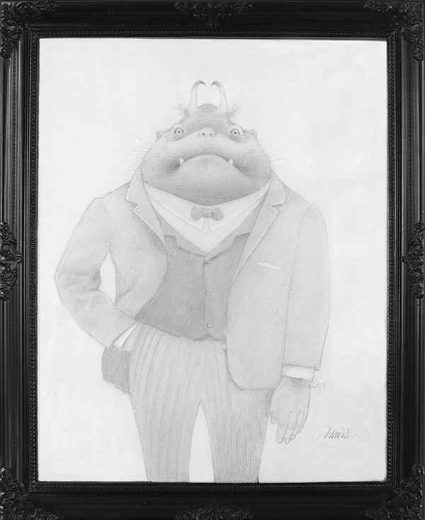 The Fancy Goblin by Travis Louie