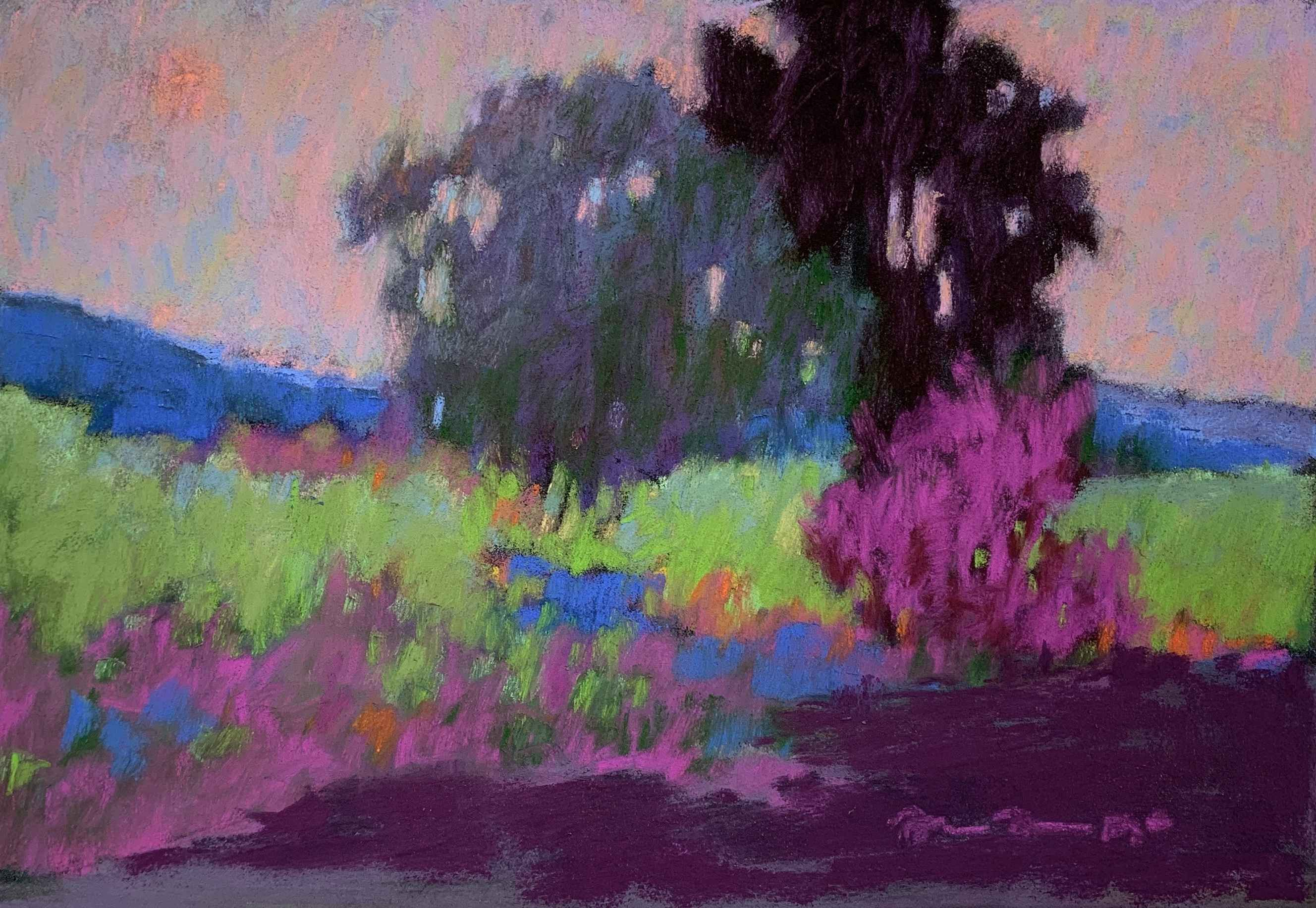 Vineyard View by  Julie Friedman - Masterpiece Online
