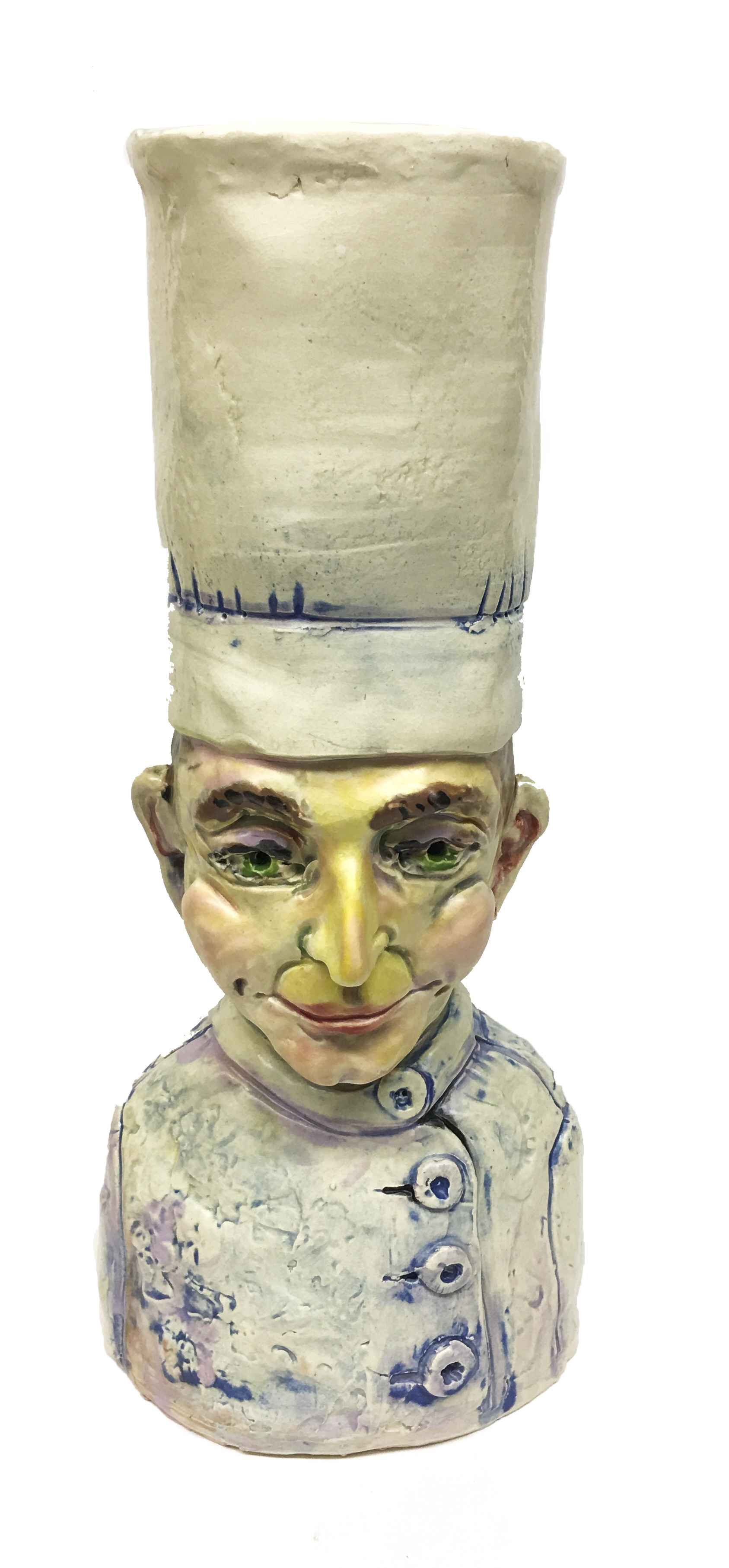 Cake Decorator  by  Jeff Nebeker