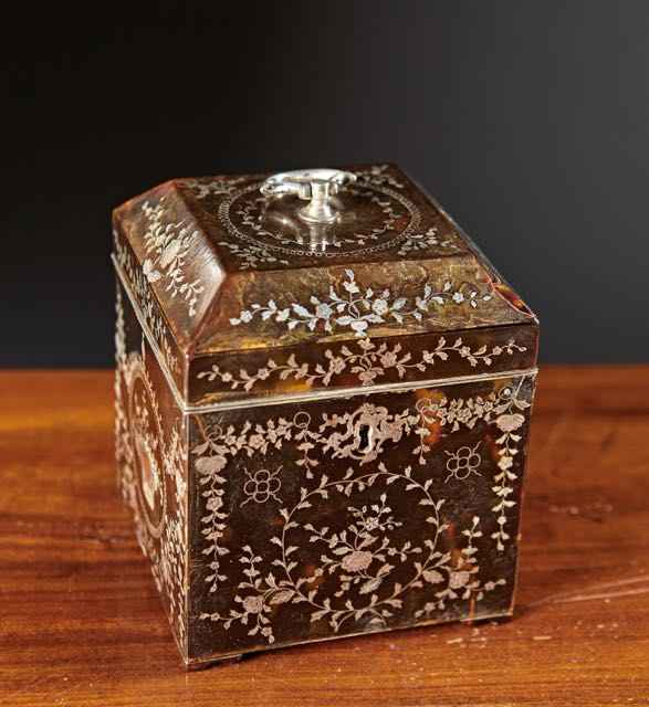 A Sterling Inlaid Tor...