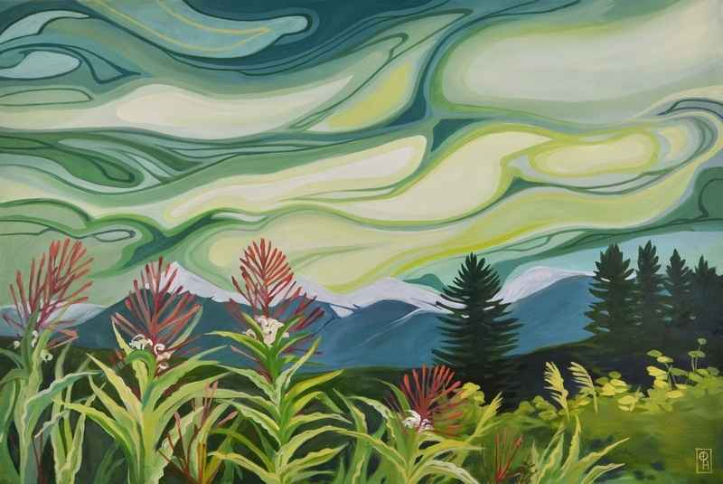 Mature Fireweed by  Erica Hawkes - Masterpiece Online