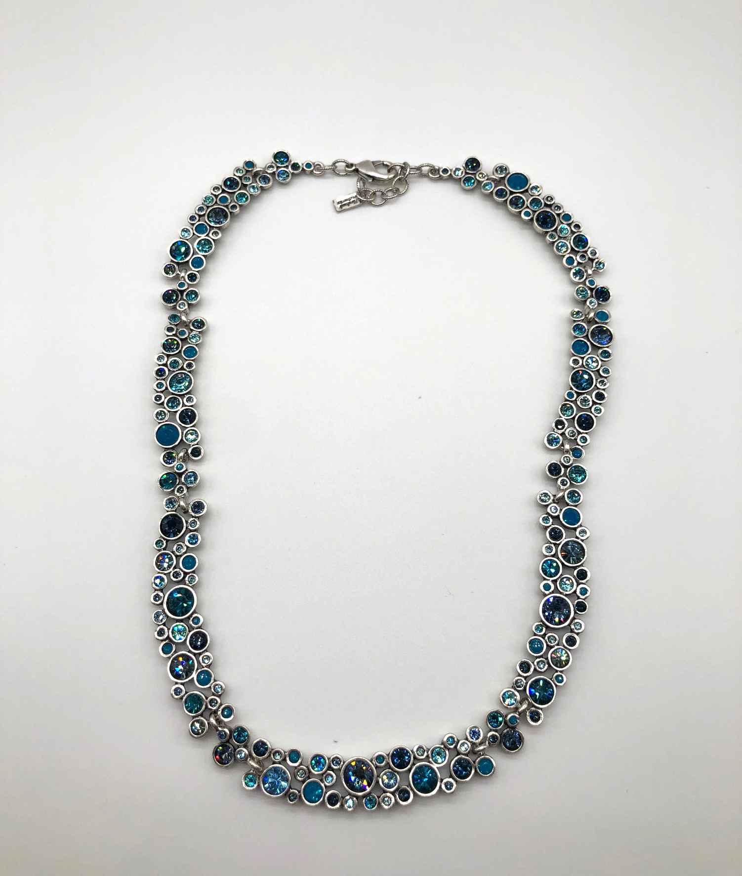 Vivacious Necklace in Silver, Bermuda