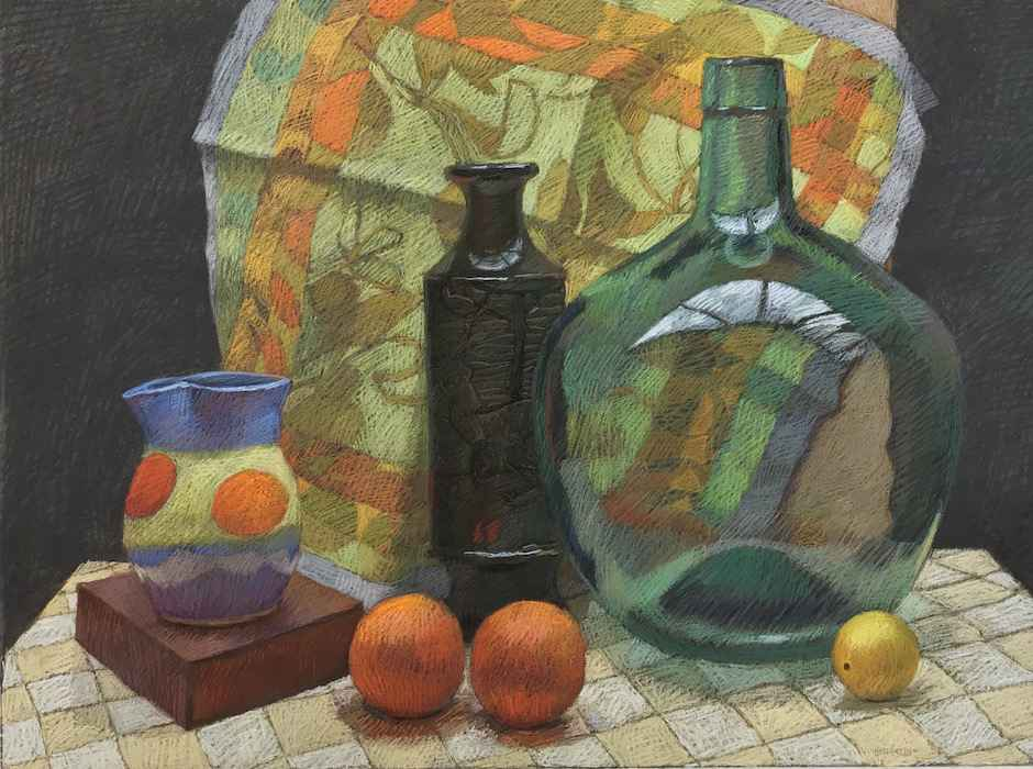 Oranges Real and Refl... by  Melissa Hefferlin - Masterpiece Online