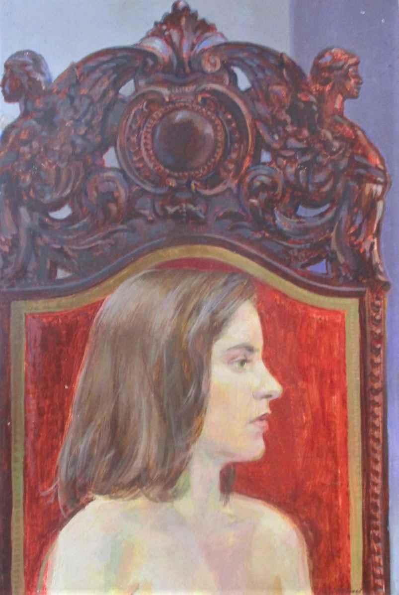 Untitled (portrait of... by  Paul Missal - Masterpiece Online