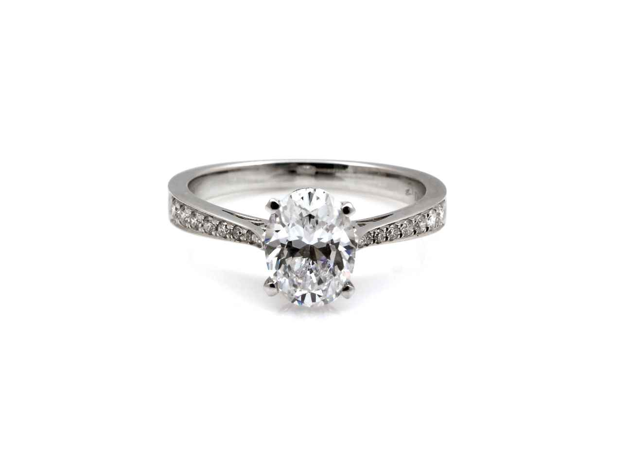Oval Semi Mount Ring by  Cherie Dori - Masterpiece Online