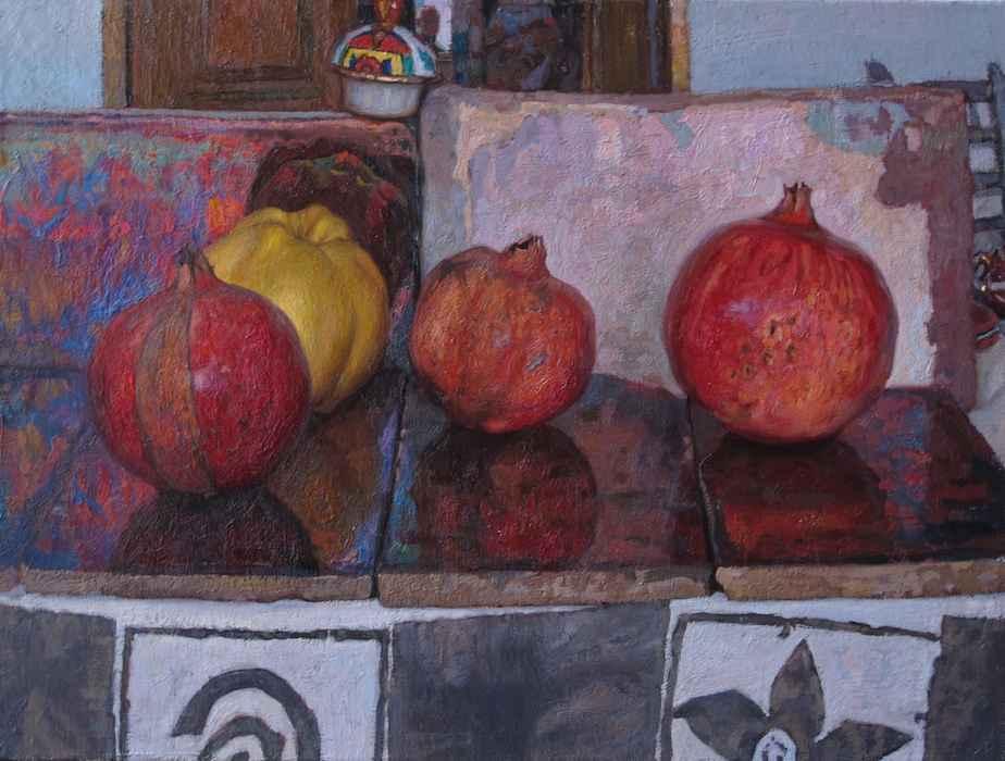 Pomegranates by  Daud Akhriev - Masterpiece Online