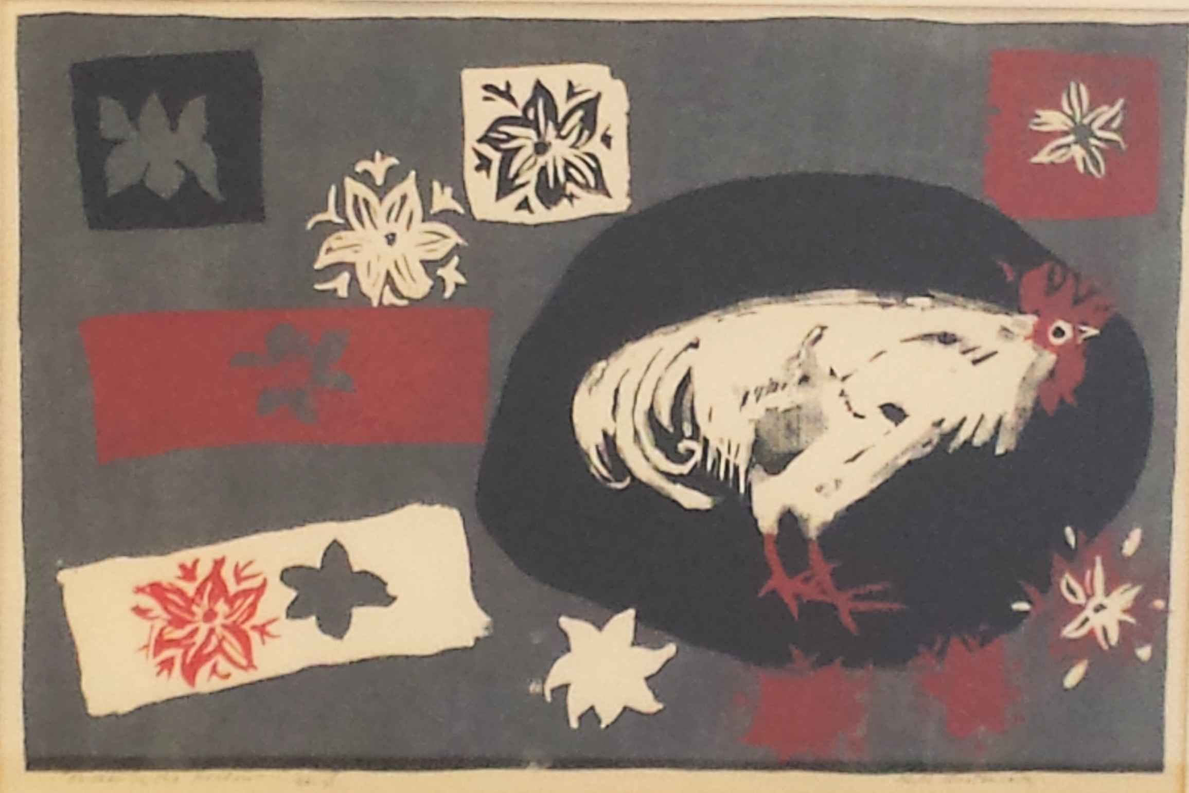 Chicken in the Meadow by Ms. Ruth Grotenrath - Masterpiece Online