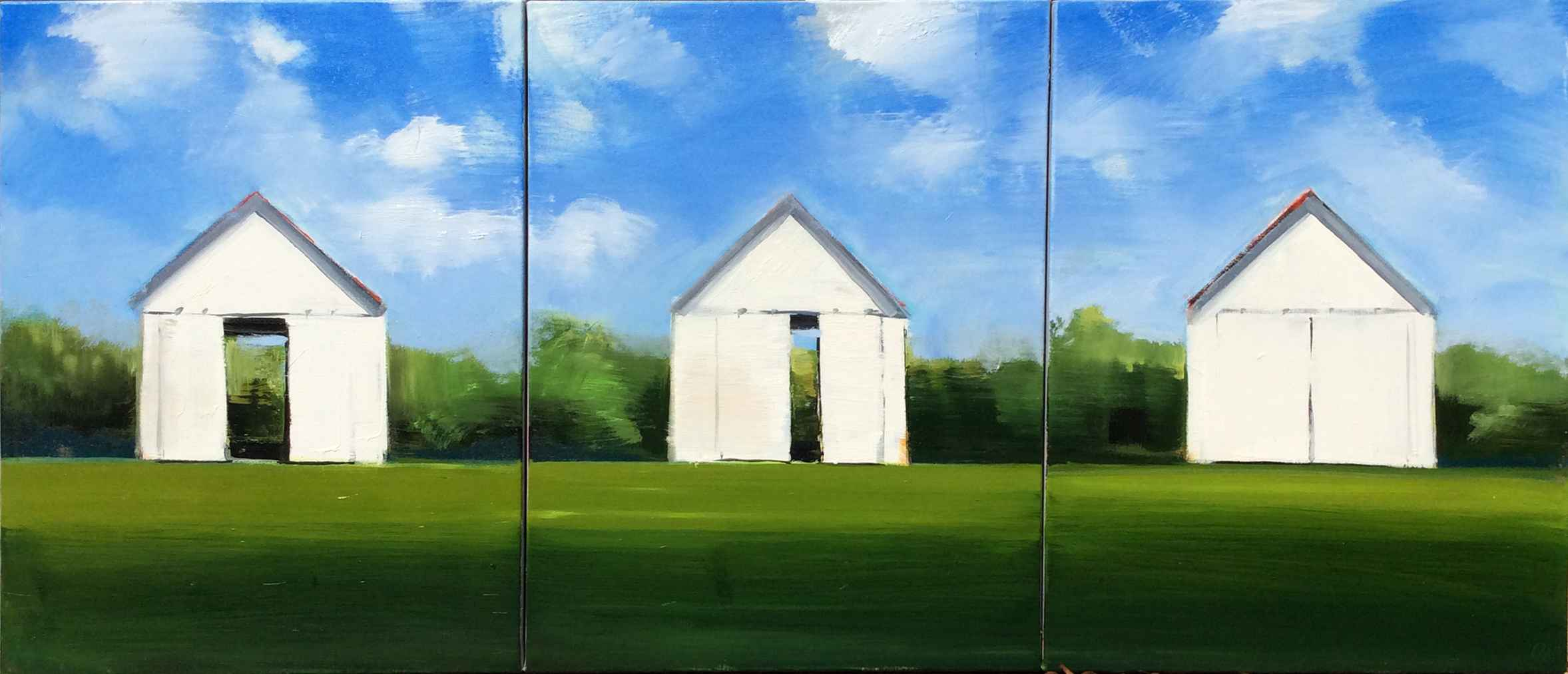 White Shed Triptych by  Craig Mooney - Masterpiece Online