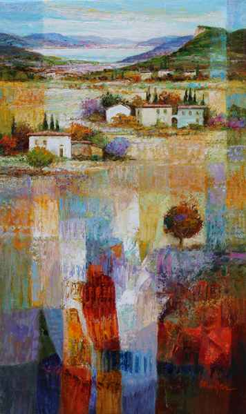 Lake and Valley by  Mario Malfer - Masterpiece Online