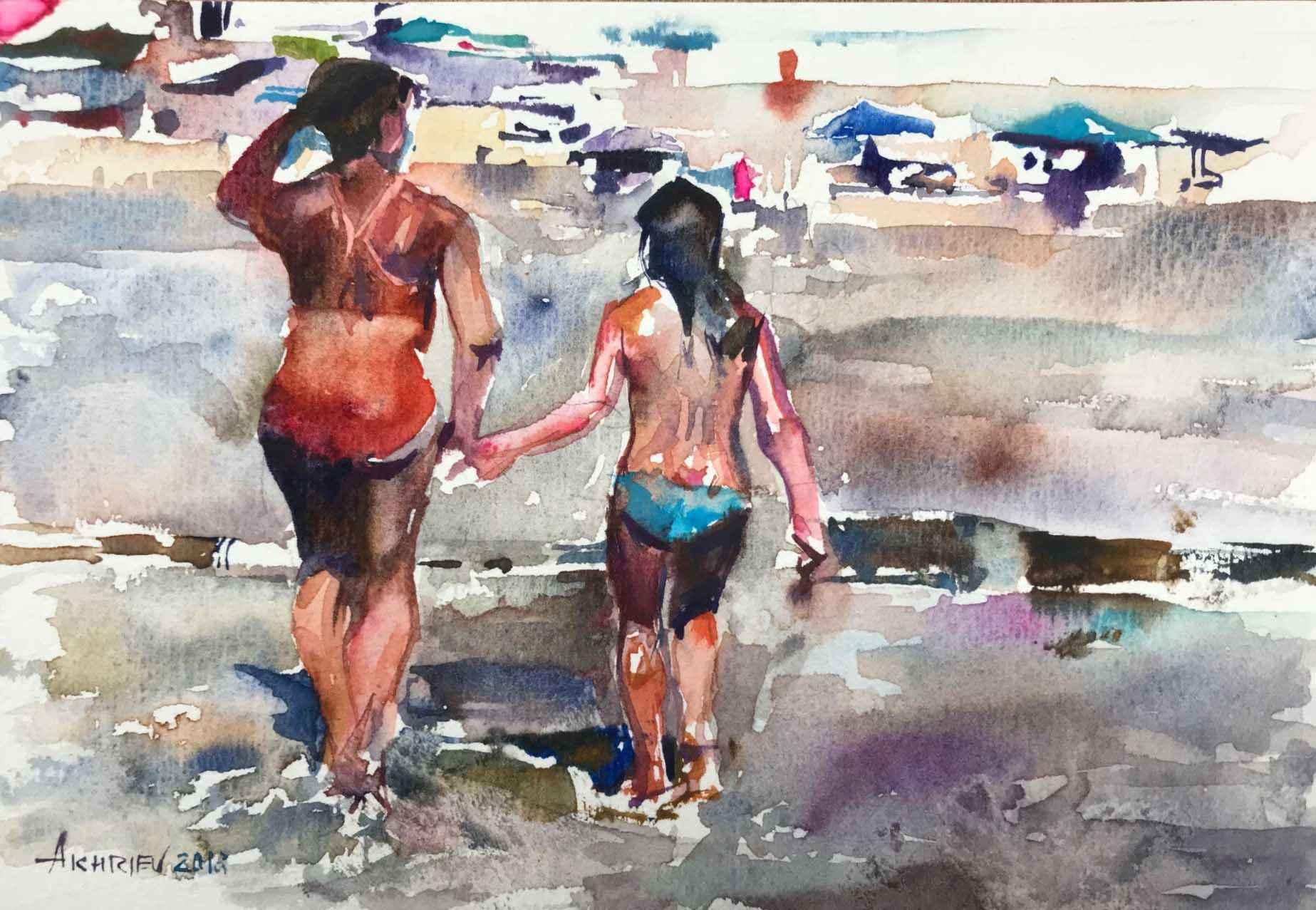 Beach Series V by  Daud Akhriev - Masterpiece Online