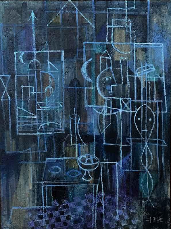Blue Studio by  Brian Hinkle - Masterpiece Online