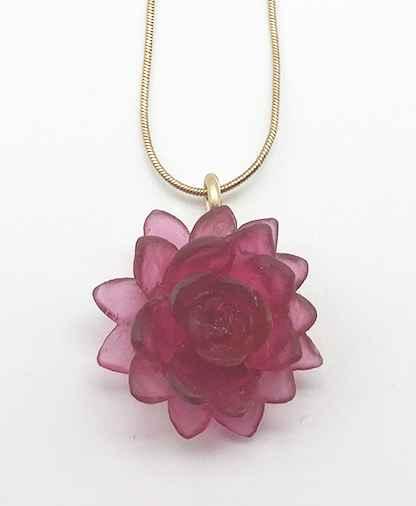 Lotus Flower Pendant Large 16