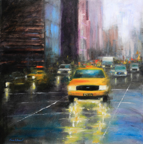 One Way Traffic by  Bob Bradshaw - Masterpiece Online