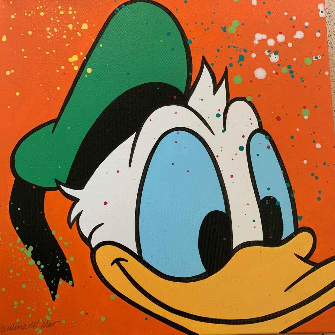 Donald in Orange