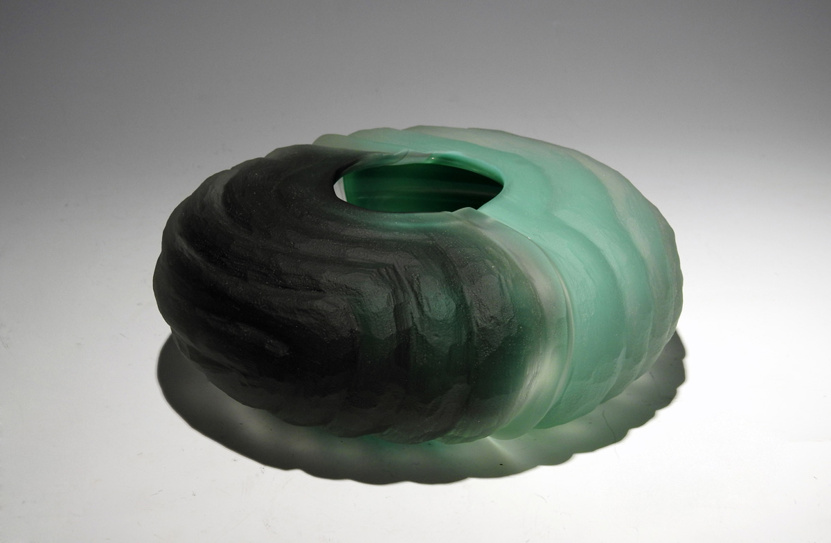 Carved Vessel/Low Duo... by  Brad Copping - Masterpiece Online