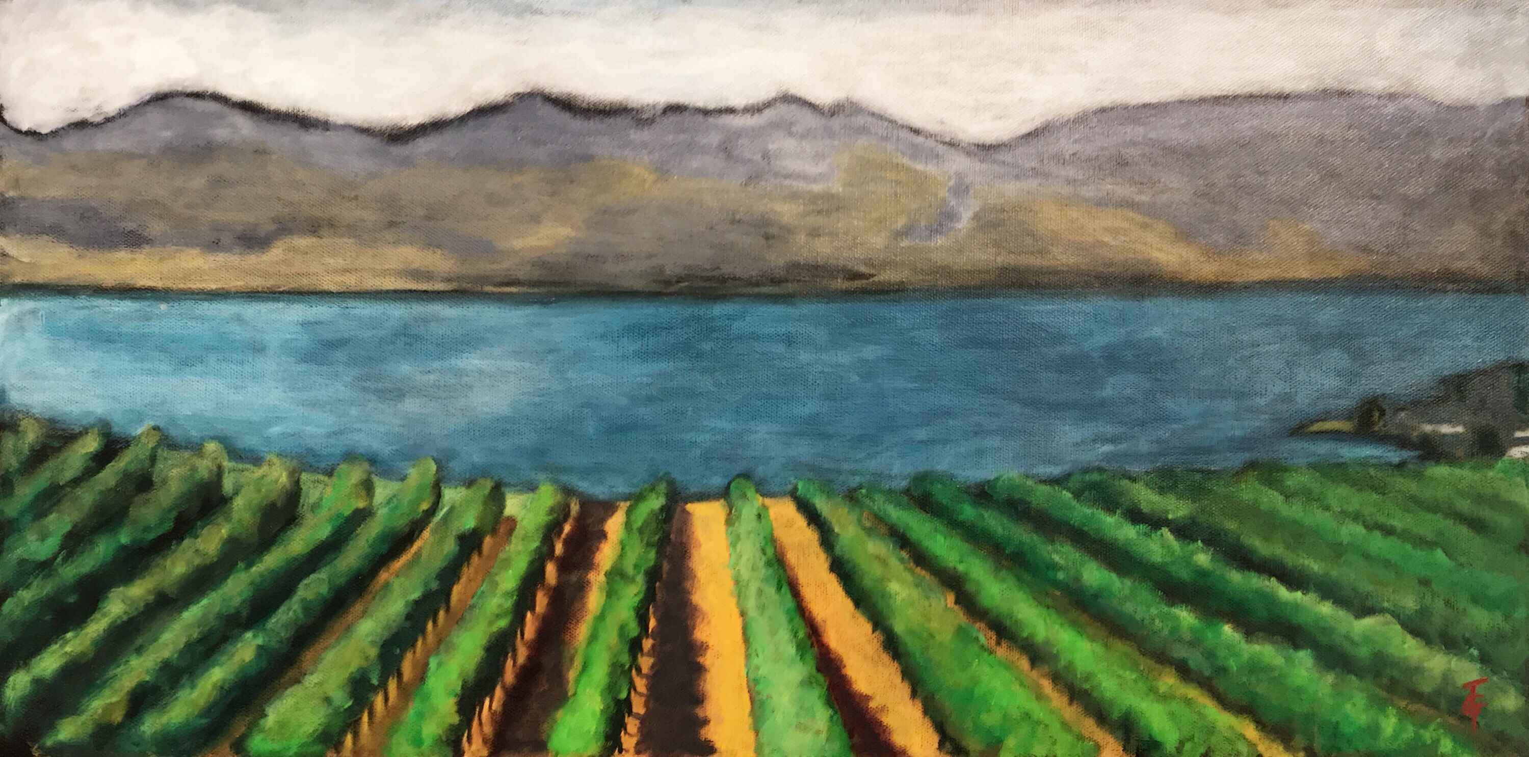 A Quails Gate View by  Tracy Turcotte - Masterpiece Online