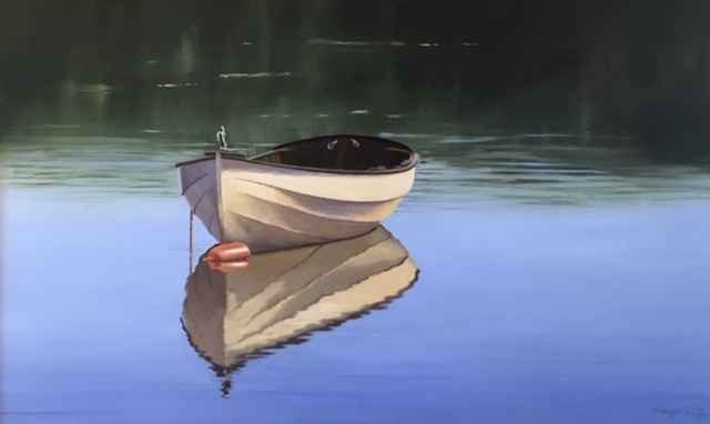 Anchored In Calmness by  Sergio Roffo - Masterpiece Online