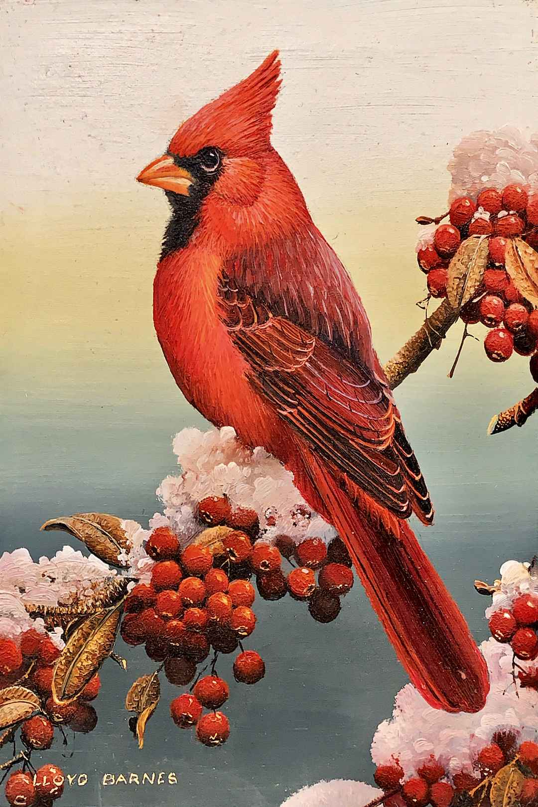 Cardinal by  Bob and Lloyd Barnes - Masterpiece Online