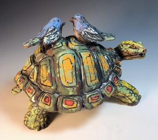 Tortoise and Birds
