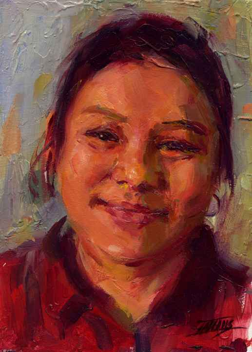 Paw, from Burma by  Pam Ingalls - Masterpiece Online