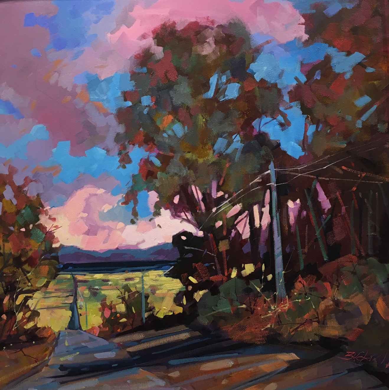 Drive to the Bay by  Brian Buckrell - Masterpiece Online