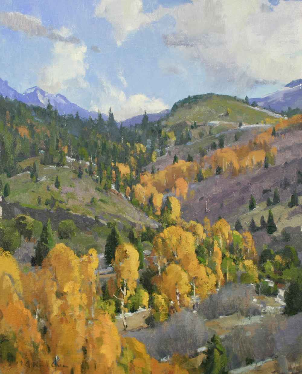 Color of Fall  by  G. Russell Case