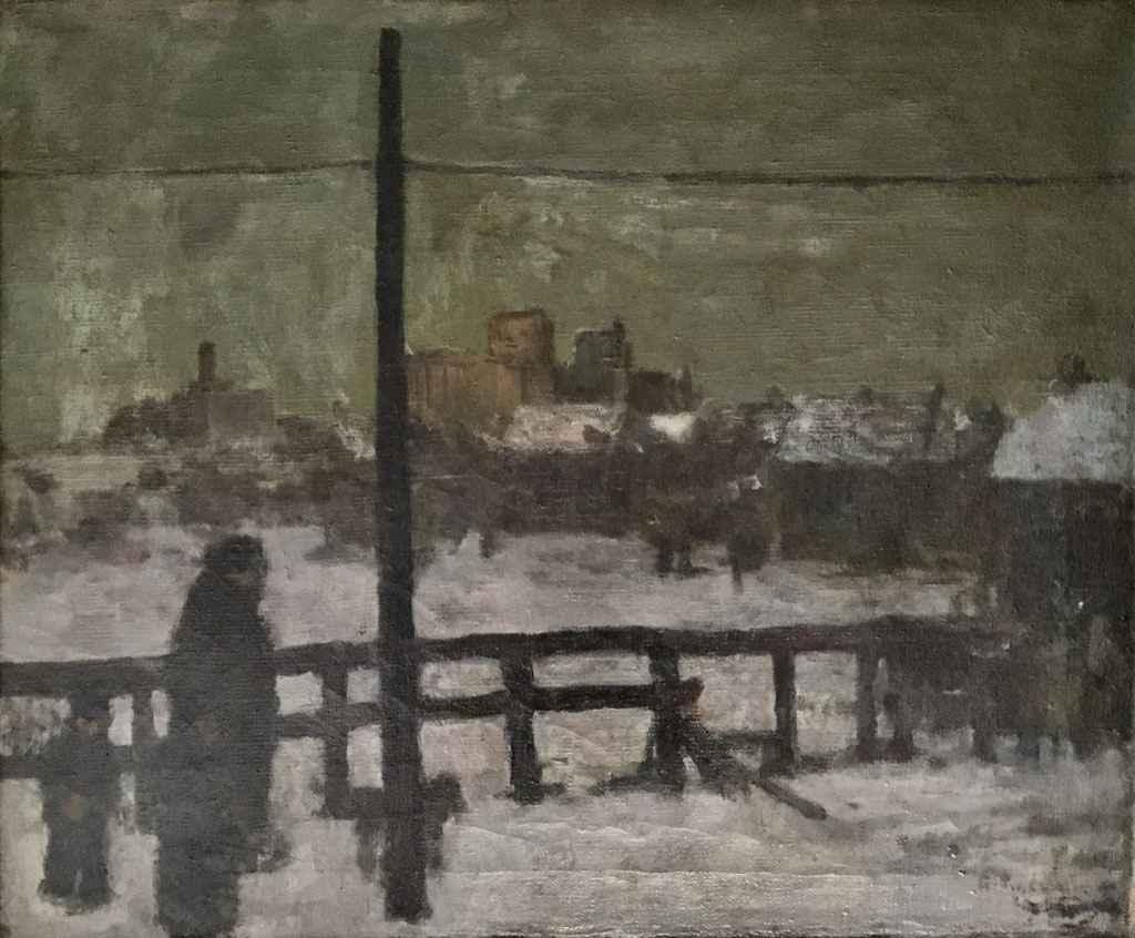 Winter In Town by Mr. Gerrit Sinclair - Masterpiece Online