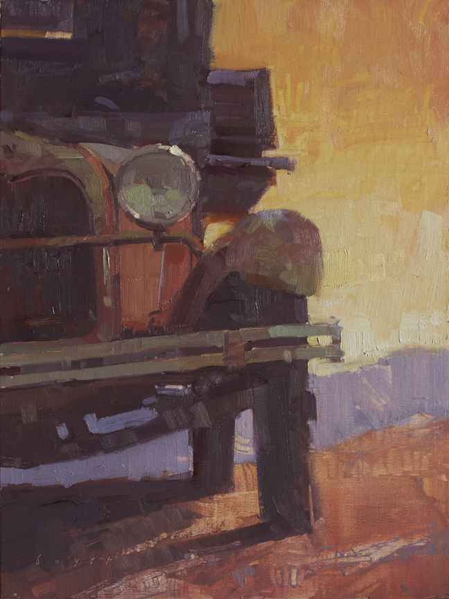 No Fear Oil Painting!... by  Lyn Boyer - Masterpiece Online