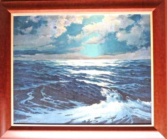 Moonlight, South Kona by  Charles (C.S.) Marek (1891-1979) - Masterpiece Online