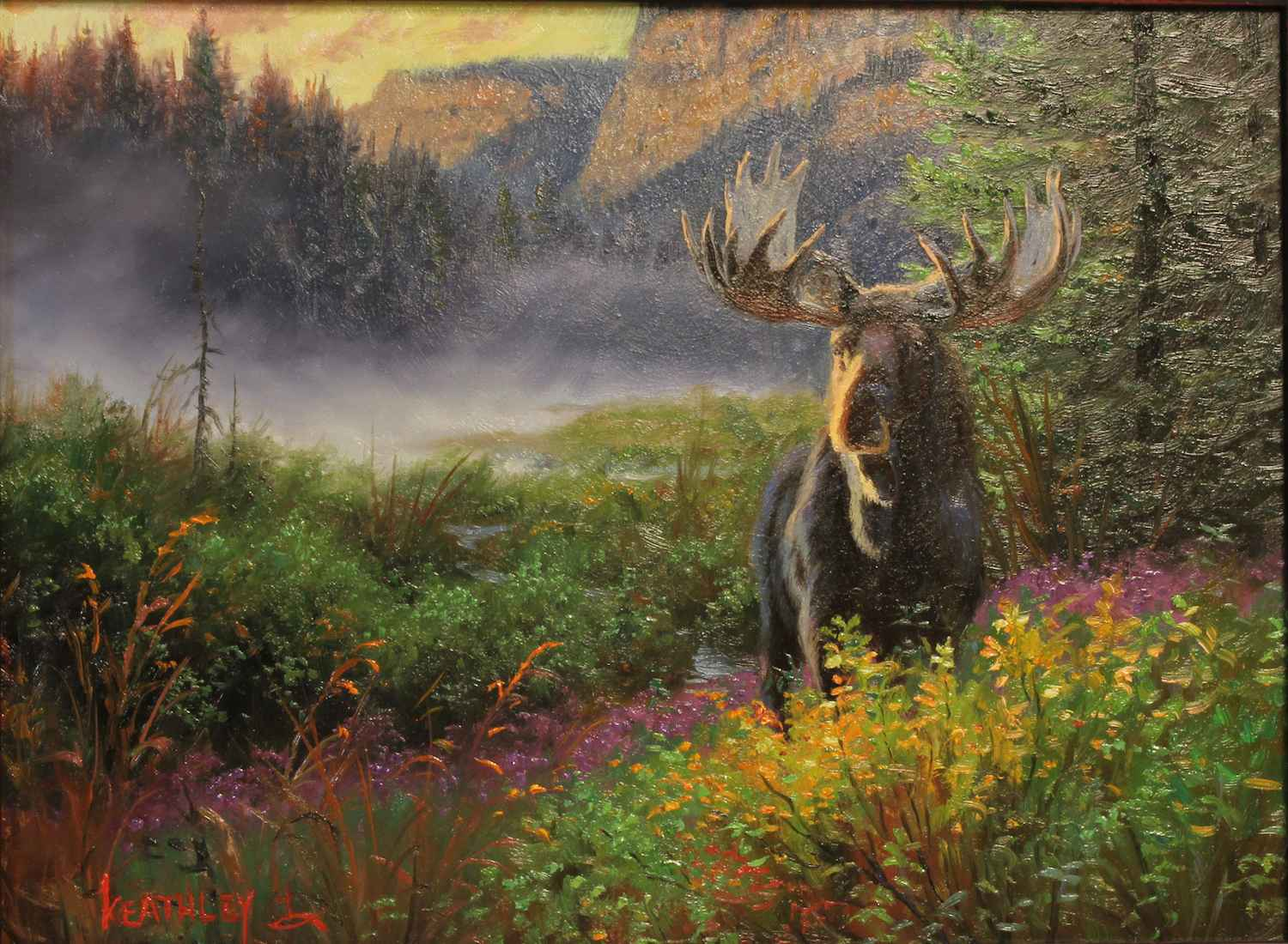 One Of The Locals by  Mark Keathley - Masterpiece Online