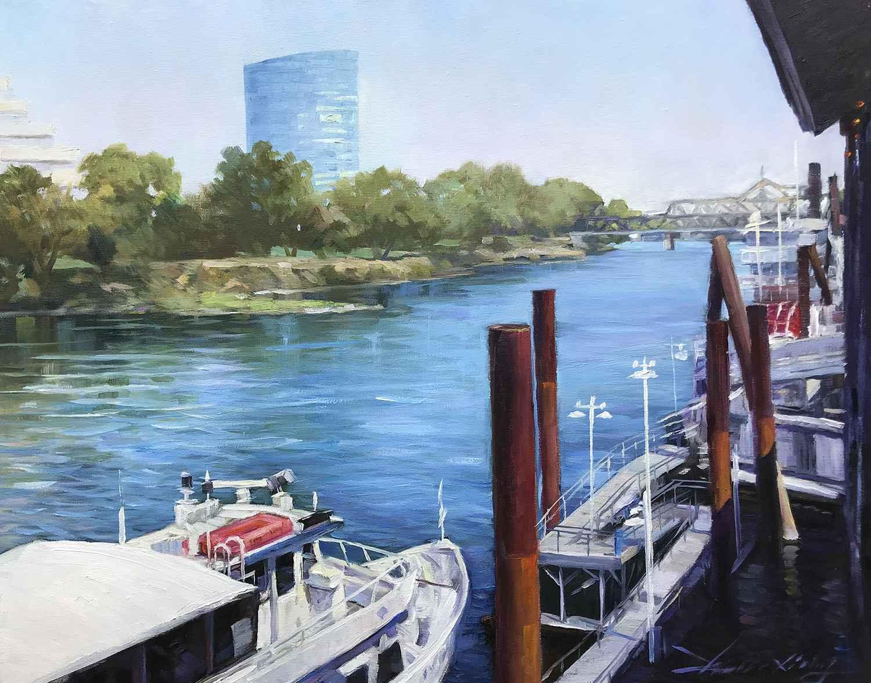 The Pier  by  Xiaolong Zhou