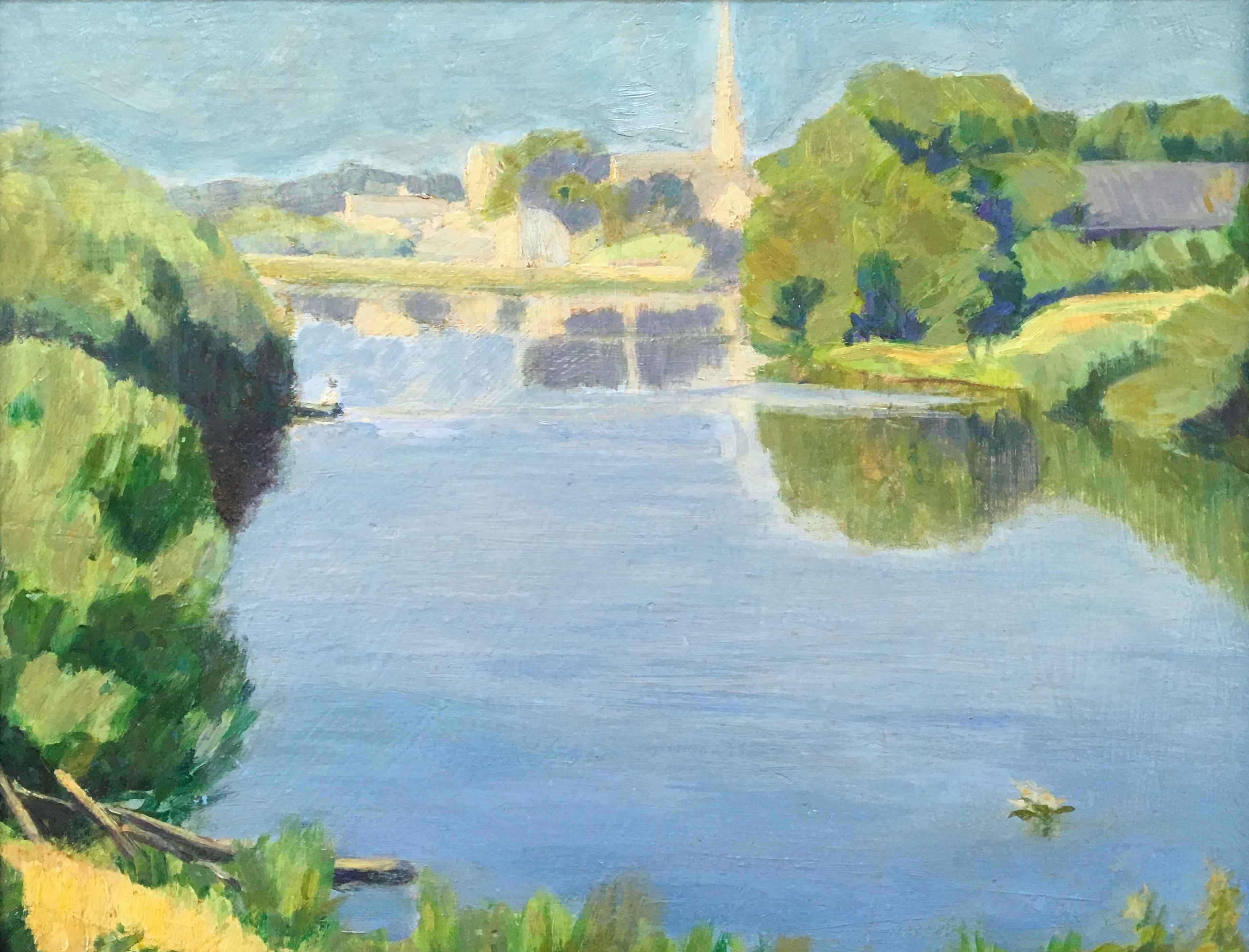 Cedarburg River and M... by Mr. Chris (Christian) Olson - Masterpiece Online