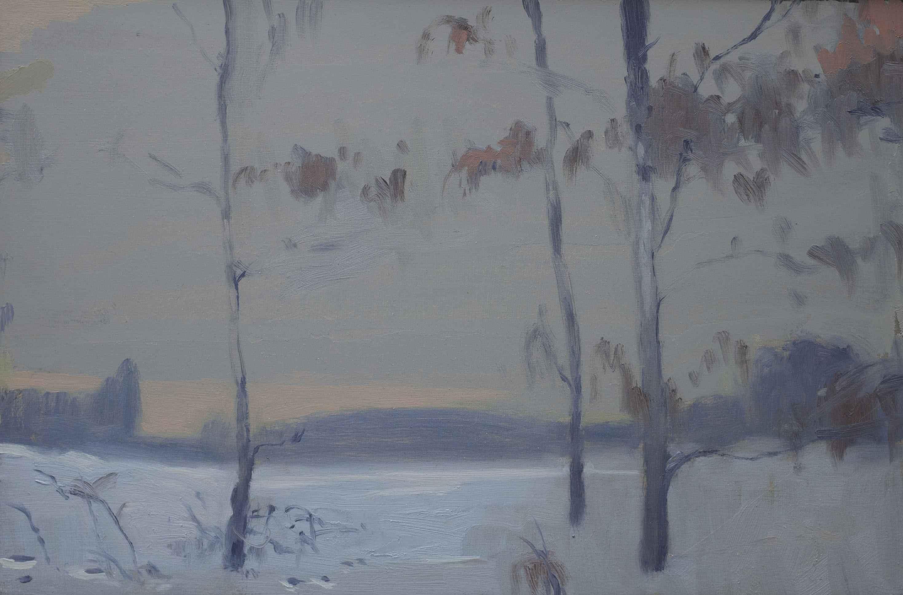 Winter Oaks by  Max Decker - Masterpiece Online