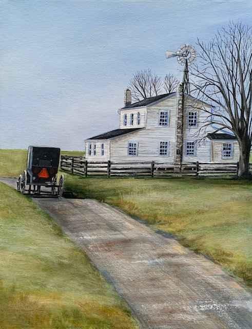 The Journey Home by  Janet Liesemer - Masterpiece Online