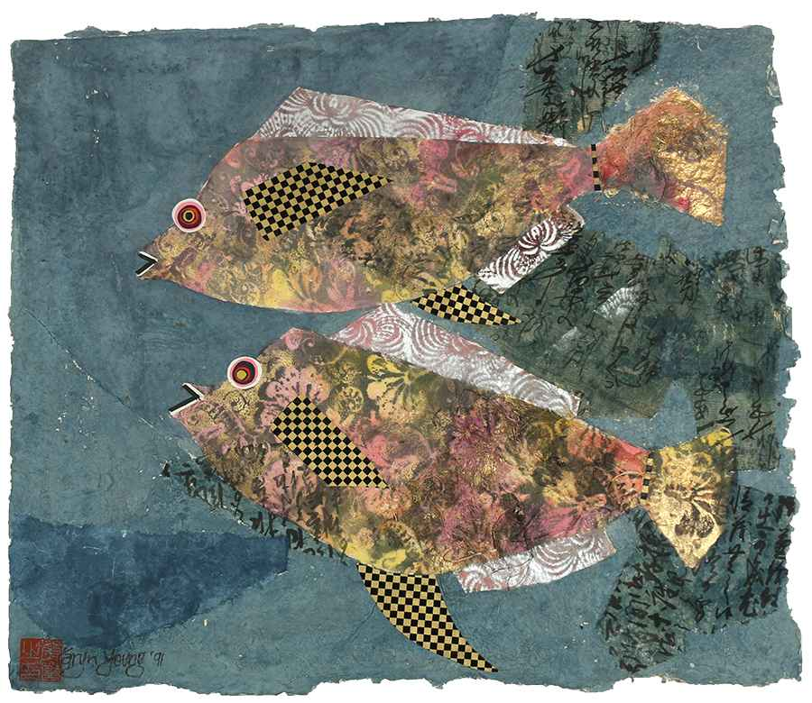 2 Fishes - Original by  Karyn Young - Masterpiece Online