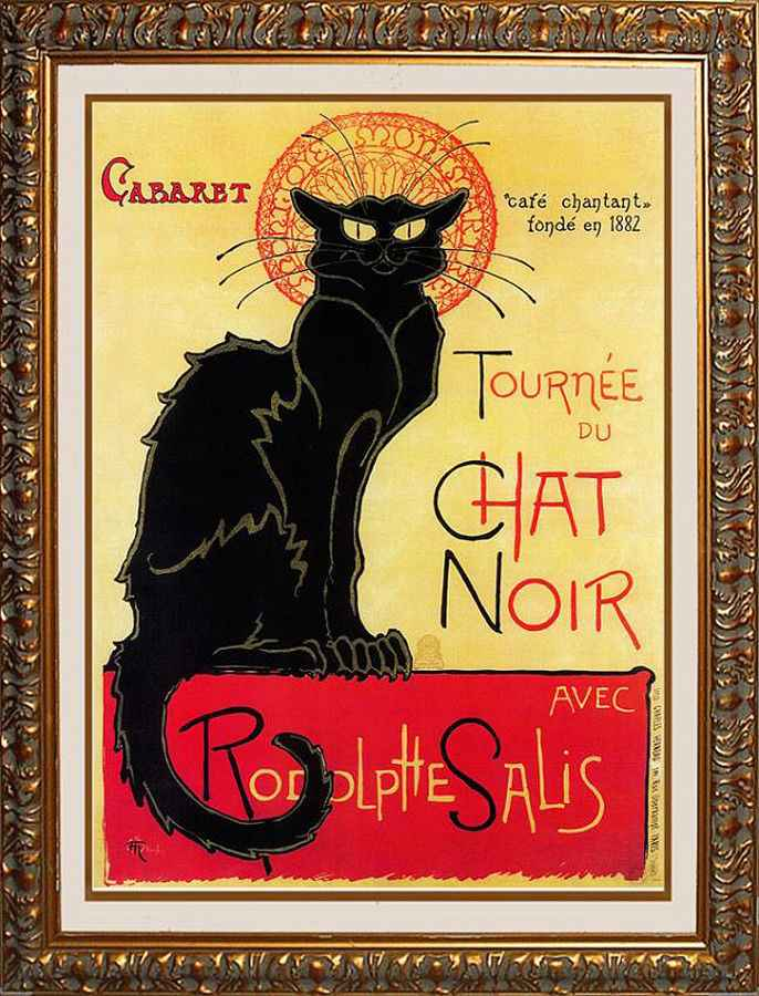 Tournee du Chat Noir... by  Theophile Alexandre Steinlen - Masterpiece Online