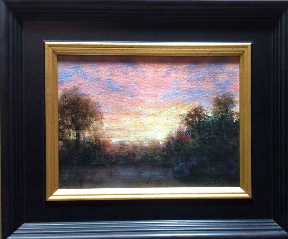 Carnelian Clouds by  Christine Drewyer - Masterpiece Online