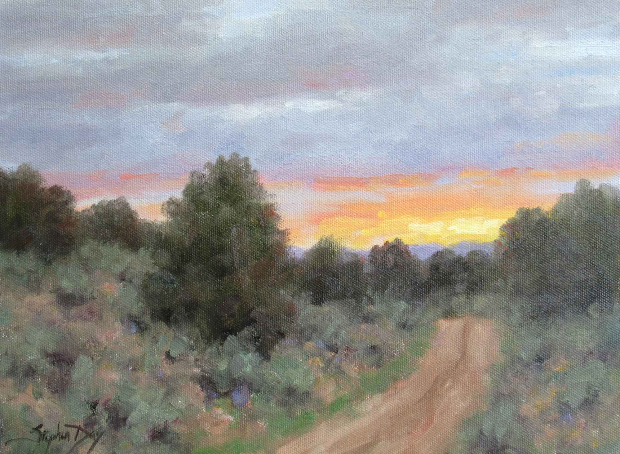 The Road Toward Eveni... by  Stephen Day - Masterpiece Online