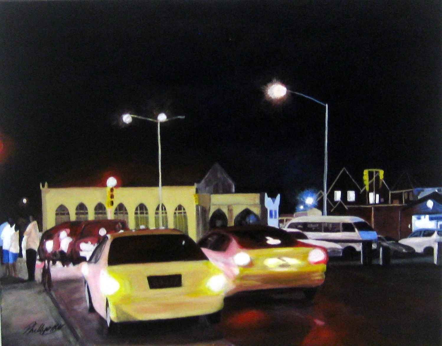 The Street That Never... by  Mark Phillips - Masterpiece Online