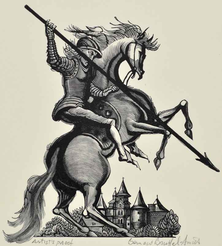 Knight on Horse by  Bernard Brussel-Smith (1914-1989) - Masterpiece Online