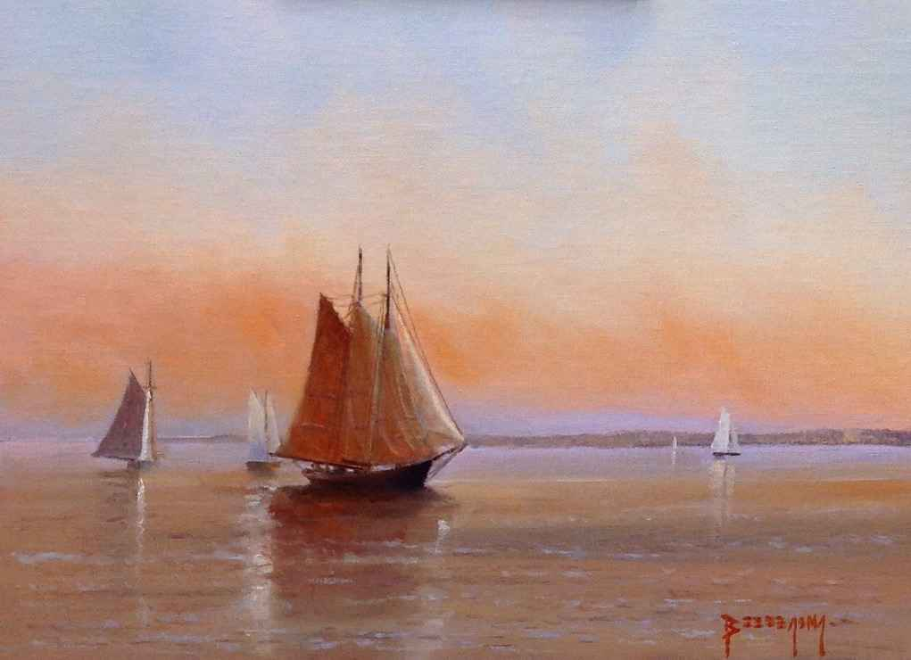 Evenings Calm by  Paul Beebe - Masterpiece Online