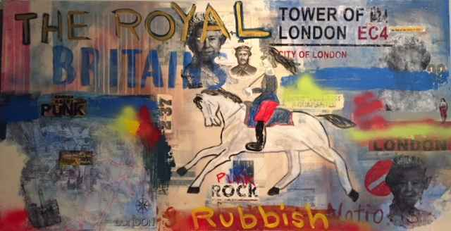 Royal Britains represented  by  David Morico - Featured Artist 2018